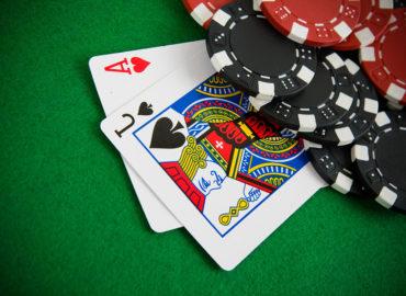 Black Jack beim Männerabend im Casino