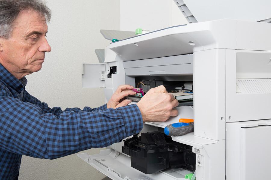 verschiedene Druckerarten