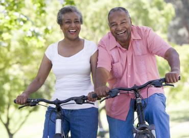 Gesund alt werden – am Fahrrad für Senioren