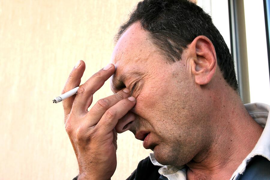 Haarausfall durch Rauchen