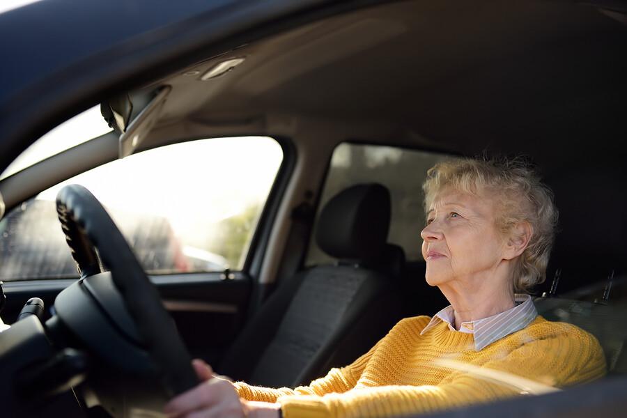 Fahrtest für Senioren