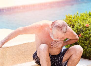 Gefahr für Senioren bei großer Sommerhitze