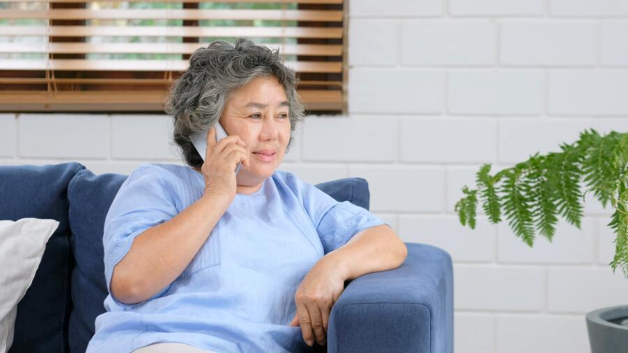 Notruftelefon für Senioren