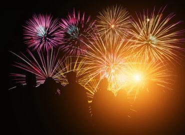 Glückwünsche für das Neue Jahr überbringen