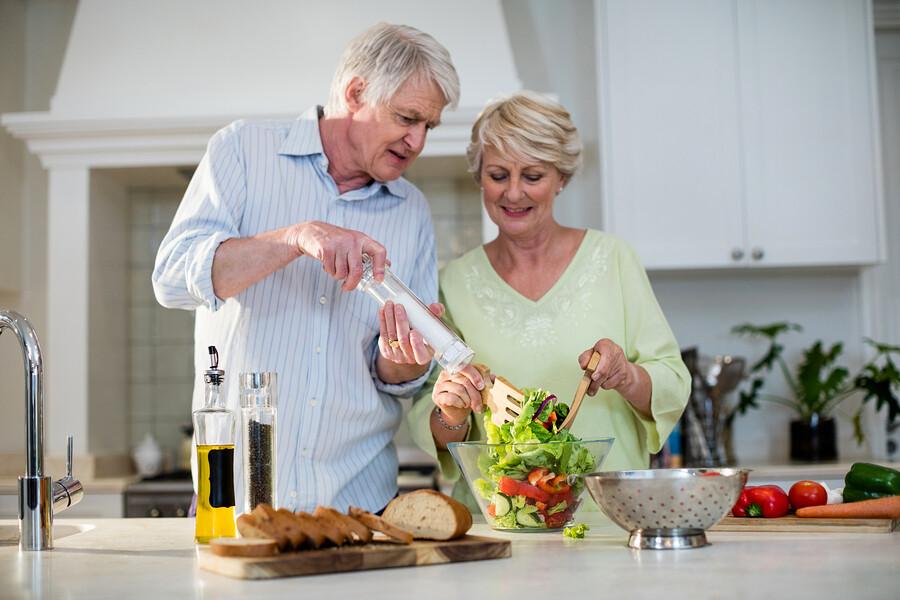 Mit bedarfsgerechter Ernährung gesund alt werden