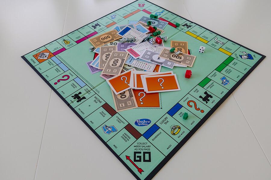 Der Spieleklassiker Monopoly für wahre Zocker