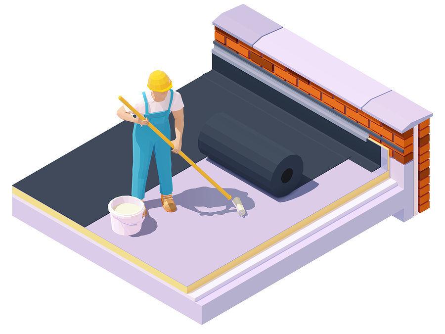 Flachdachsanierung
