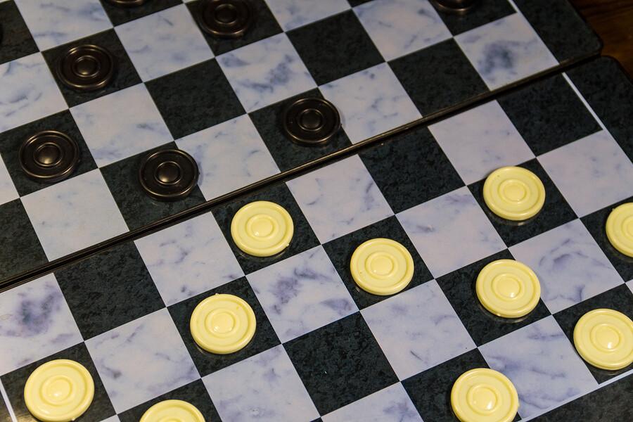 Perfektes Spiel für Strategen Dame
