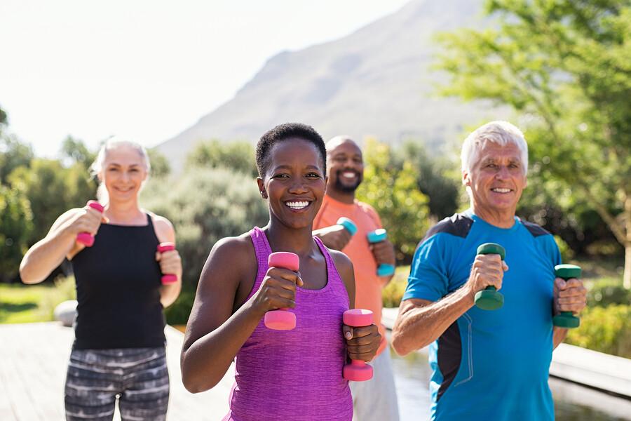 Gesund bleiben und Muskelabbau vorbeugen