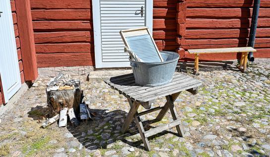 Vom Waschbrett zur vollautomatischen Waschmaschine