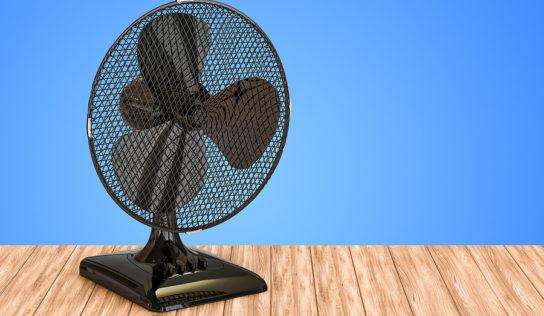 Tischventilatoren als Erfrischung an heißen Sommertagen